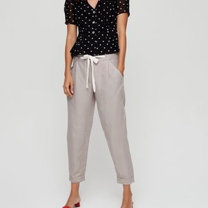 Wilfred linen Allant pant in ashen size 2